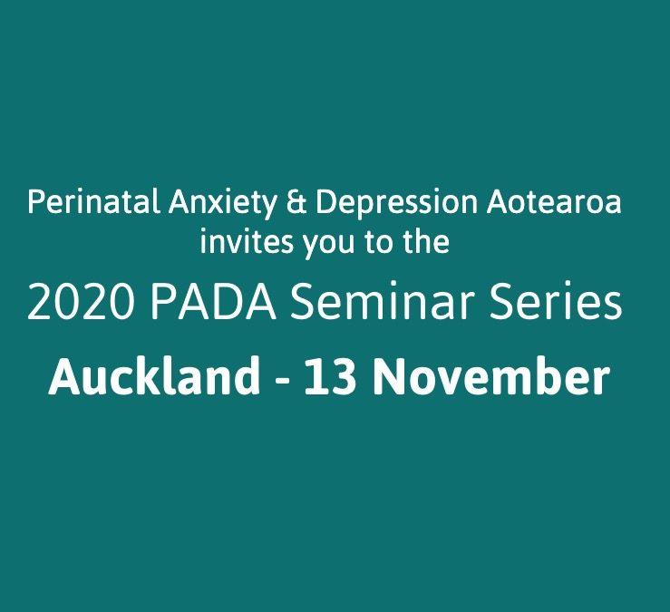 Auckland PADA Hui – 13 November 2020
