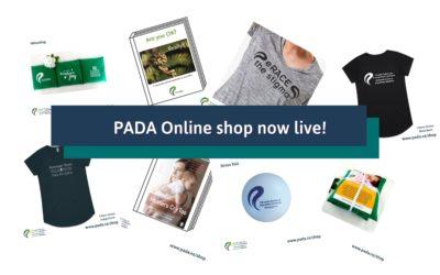 PADA Online Shop now Live!