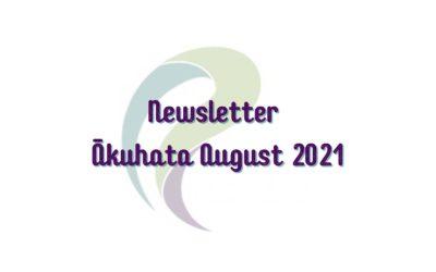 PADA Newsletter Ākuhata August 2021